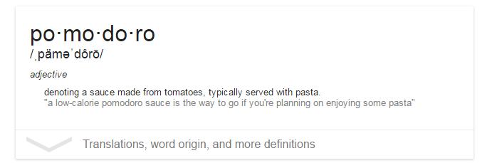 pomodoro-definition